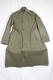 US WW2 Army Dismounted Rubberized Rain Coat. MINT!