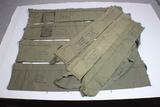 US Vietnam War Era M16 Rifle Bandoliers.