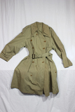 US WW2 Army Officer's Overcoat. Impossible To Find. Fair Worn Condition. Named.