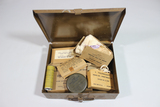 US WW2 Jeep First Aid Kit. W/ Some Contents