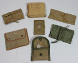 US WW2 Sewing Kits, Change Purse, & Misc. Pouches.