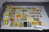 Huge US WW2 Post Card & Letter Lot. Great Cartoons. Great Colors. Many Filled Out. Amazing Lot!