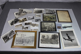 US WW2 Framed Picture Lot W/ Loose Photos. 1 Framed Japanese Beheading Photo. Creepy!