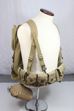 Great Early US WW2 Combat Field Gear Rig Canteen, Belt, Haversack, Meat Can Pouch, Etc.