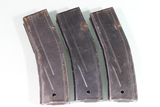 Lot of 3 US WW2 Era M1 Carbine 30 Round Magazines.
