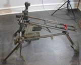 Post WW2 German MG42 MG34 MG3 MG53 Lafette Machine Gun Mount Stand Tripod & Accessories.