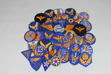 US WW2 AAC Army Air Corps Air Force Lot of 38 Patches.