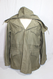 US WW2 M43 Field Combat Jacket W/ Hood. Wartime Production. 42R. Great Large Size!