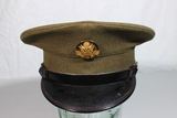 US WW2 Enlisted Army Dress Visor Cap Hat. 7 1/4. Good Cond.