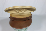 US WW2 Army Enlisted Visor Cap Hat. Nice. No Eagle. 7 1/4.
