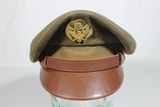 Gorgeous US WW2 Army Air Corps Enlisted Visor Hat Cap. Great Saddle Shape!