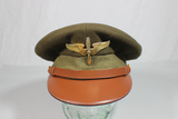 US WW2 Super Fine Crusher Style Knox Made Named Visor Hat Cap.