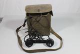 US WW2 EE-8-B Field Telephone Phone. Signal Corps. W/ Case.