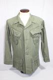 US Vietnam Poplin Rip Stop Jungle Jacket. Size Small Regular. 1969.