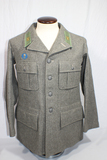 WW2 Swedish Sweden Army Wool Uniform Jacket. 1940 Dated. W/ Insignia. Very Fine Condition.