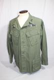 US Vietnam War Poplin Rip Stop Jungle Jacket. Named Military Police Officer.