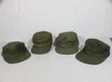 Lot of 4 US Korean War Era M51 Field Patrol Ranger Hat Caps.