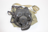 US WW2 USN Navy Optical Diaphragm Gas Mask. W/ Bag & Filter. Very Nice.