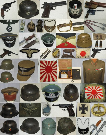 MILITARY COLLECTIBLES AUCTION  MARCH 24, 2020 5pm