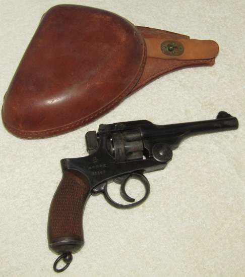 Pre/Early WW2 Japanese Type 26 Revolver-9mm With Holster