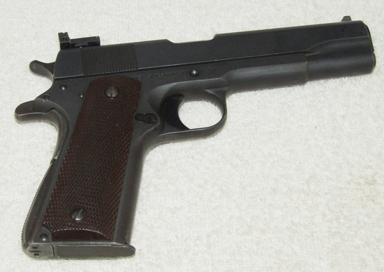M1911-A1 .45 Cal. Pistol-Scarce Maker Of US & S-1943 Production