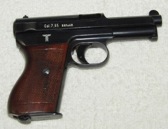 Rare M1914/34 Mauser 7.65 Cal. Pistol-Kriegsmarine Issue