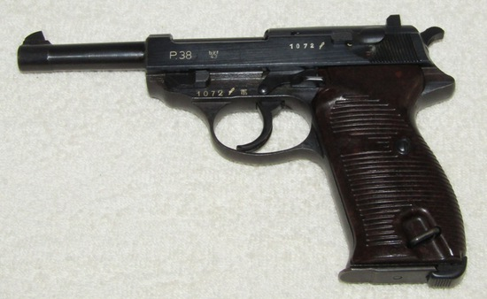 "P38 Mauser Code ""byf 43"" Pistol-Matching Numbers"