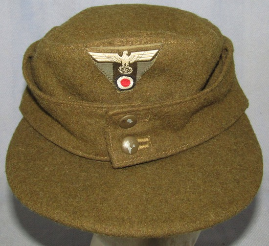 Scarce Organization Todt M43 Cap For EM/NCO-Textbook Example