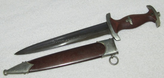 "Early SA Dagger With Scabbard-Extremely Rare Maker ""Wilhelm Wagner""-Possible Ground Rohm"