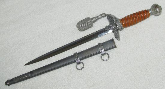 2nd Model Luftwaffe Officer's Dagger With Portepee-SMF Maker Marked