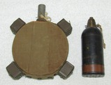 2pcs-WW2 Japanese Type 89 Inert Mortar-Type 99 Magnetic Anti-Tank