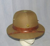 Scarce WW2 Imperial Japanese Higher Ranks Officer's Pith Helmet