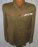 Imperial Japanese Army Officer Tunic-Colonel Rank-Pre WW2 Ribbon Bar Awards