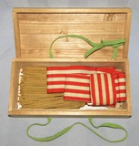 WW2 Imperial Japanese Higher Rank Officer's Dress Sash With Case