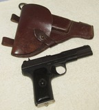 Early WW2 Russian TT-30 Tokarev 7.62 X 25mm Pistol-1939 Dated-Original Holster-Matching # Clip
