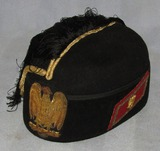 WW2 Italian MVSN Fascist General Officer's Kepi