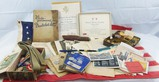 Named WW2 U.S. Soldier Misc. Grouping-Phrase Books-Documents-Patches-Insignia-Fighting Knife Etc.