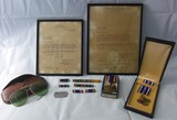 Named WW2 U.S. Army Air Forces/IX Fighter Command Award Letters-Medals-Dog Tag. Etc.