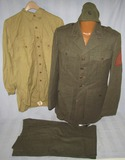 Named WW2 USMC Uniform Grouping