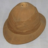 Rare WW1 British Tropical Pith Helmet-Named/Unit Marked-Royal Engineers
