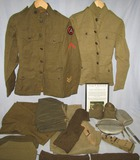Named WW1 U.S. Soldier Uniform/Gear Grouping