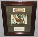 Ca. 1935 Elastolin Toy German Cavalry Soldier In Shadow Box Frame