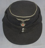Luftwaffe Officer's M43 Cap-Bullion Insignia-Private Purchase