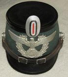 WW2 Period Nazi Urban Schutzpolizei Shako For Enlisted-EREL