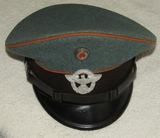 WW2 Nazi Gendarmerie (State Rural Police) Visor Cap For Enlisted