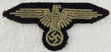 Original WW2 Period Waffen SS Sleeve Eagle For Enlisted-