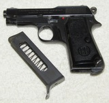 WW2 Italian Air Force Officer's M1935 9mm Beretta Pistol W/Regia Aeronautical Issue Stamp