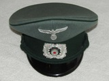 WW2 German Customs NCO Visor Cap-Robert Lubstein/EREL