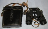 WW2 German Officer's 10X50 Binoculars With Case-beh (Ernst Leitz) Maker