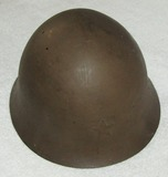 WW2 Japanese Imperial Army Type 90 Combat Helmet With Liner/Straps